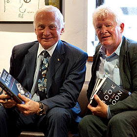 Buzz Aldrin with Rick Stroud